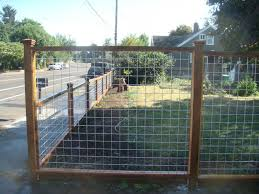 wire fence styles.  Wire Wood And Galvanized Mesh Fence   Metalfencesgalvanizedwirefence Withpressuretreatedframe With Wire Fence Styles I