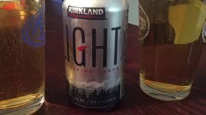 Rockdale Light Alcohol Percentage New Kirkland Light Lager Vs Old Kirkland Light Beer Youtube