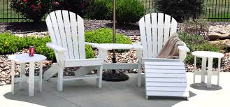 Seaside Recycled Plastic Adirondack Chair Belson Outdoors