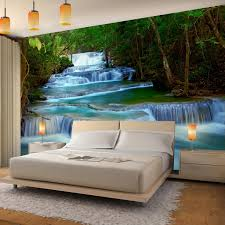 Fototapete Wasserfall 396 X 280 Cm Vlies Wand Tapete Wohnzimmer