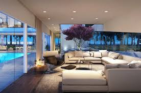 30 Modern Style Houses Design Ideas For 2016. High Ceiling Living Room ...