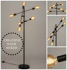 Deze Vloerlamp Is Voorzien Van Drie Rietveld Licht Wonen