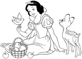 Small Picture Snow White Coloring Pages GetColoringPagescom