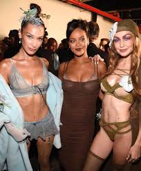 Image result for gigi hadid savage X fenty