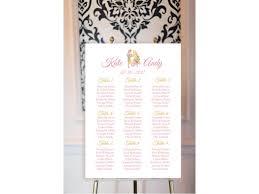 Tangled Theme Wedding Seating Plan Wedding Chart Disney