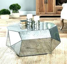distressed mirror coffee table distressed mirror glass mirrored coffee table round round mirrored coffee table distressed