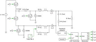 Dc Dc Converter Design Examples Series Capacitor Buck Converter Plexim