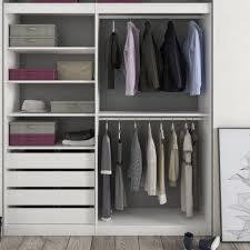 Form Perkin White Medium Hanging Storage Kit (H)2000mm (W)1800mm    Departments   DIY at B&Q