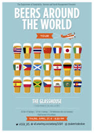hospitality management department to host beers around the world tradeshow