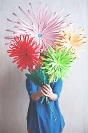 Paper Crafted Flowers 1243 Best Crafts Flowers Paper Images Giant Paper Flowers Giant
