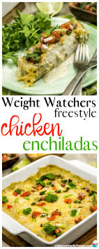 but sometimes you just want the real thing so i went searching for a low point version these weight watchers en enchilada the spot and taste