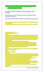 Capstone Project Milestone 2 Design For Change Proposal Guidelines Nr 451 Capstone Project Milestone 2 By Michelmarch Issuu