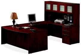 Shaped office desk Modern Ushaped Office Desk Suite Zofshoney Zofsespresso Zofscherry White Ofssuiteplno1jpg Newvo Interiors Ushaped Office Desk Suite New Vo Interiors