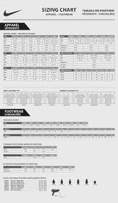 Nike Unisex Size Chart Nike Socks Size Chart Image Sock And Collections