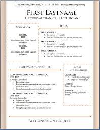 Download Resume Templates Enchanting Download Free Resume Template Templates To 60 Microsoft Word 60 Best