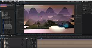 After Effects Animation How To Relight A 2d Scene With After Effects 3dart
