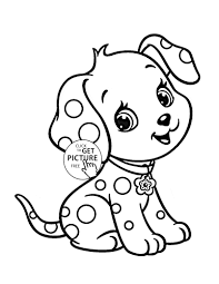 Cute Baby Animal Coloring Pages Inspirational Cartoon Puppy Page For