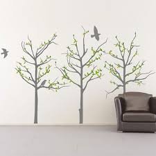 palm tree wall stickers: grey trees wall sticker binary grey trees grey trees wall sticker