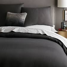 dark grey bedding. Awesome Dark Gray Duvet Cover Queen Sweetgalas Regarding Grey Bedding F