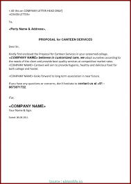 6 Brilliant Sample Business Proposal Letter Catering Services