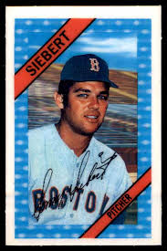 1972 Kellogg's Sonny Siebert #36 OF 54 on Kronozio