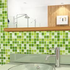 mosaic tile crystal glass backsplash dinner design bathroom wall floor tiles garden green painted