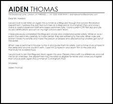 Sample Cover Letter For Swim Instructor Position Adriangatton Com