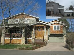 Architectures Exterior Remodeling Idea Brown Paint Exterior - Exterior remodeling