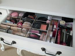 ... Drawer design, White Rectangle Modern Wooden Makeup Storage Drawers And  Pencil Eyebrow Design: Makeup ...