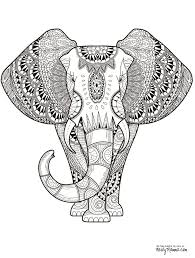 Elephant Printable Educations For Kids