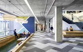 creative office ceiling. Office-space-spacious-floor-to-ceiling-windows Creative Office Ceiling R