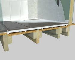 level or stepless entry 3d sectional timber