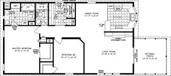 manufactured home floor plan the imperial model imp 3486b 2 bedrooms