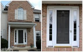Door Top Light Front Door Colors For Light Brick Houses Pogot