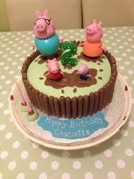 Peppa Pig Muddy Puddles Birthday Cake Birthday Party Ideas In