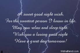 Cute Good Night Quotes Delectable Cute Good Night Messages