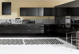 modern cabinets black. bold kitchen with black cabinets modern t