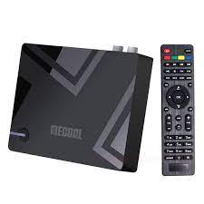 MECOOL K5 Android TV BOX DVB T2/S2 Set Top Box Android 9.0 4K Media Player  Amlogic S905X3 quad Kabel 2.4G/5G 2T2R WiFi BT4.2|Set-top Box