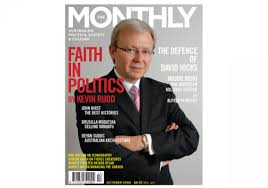 faith in politics the monthly cover 2006