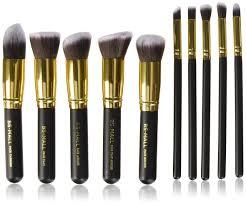 bs mall tm makeup brushes premium makeup brush set synthetic kabuki makeup brush set cosmetics foundation blending blush eyeliner face powder lip brush