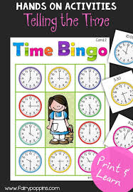 Telling The Time Activities - Fairy Poppins