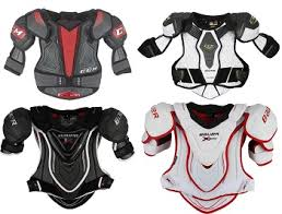 Easton Shoulder Pad Sizing Chart Shoulder Pad Fitting Guide For Hockey