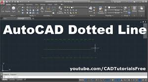 How to draw a rose in illustrator. How To Draw Dotted Line In Autocad Youtube