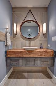 2017 Contemporary Bathroom Design With Industrial Eclectic Vintage Vanity  (Photo 6 of 12)