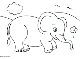 Coloring Pages Elephants Abstract Elephant Coloring Pages For