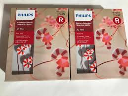 Philips Dewdrop Lights Plug In Lot Of 2 Led Battery Operated Dewdrop Lights And 50 Similar