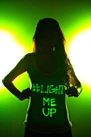 lum shirts light up with wver your mind can think up