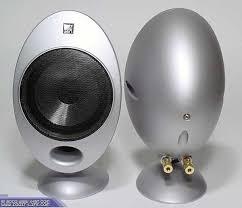 kef egg subwoofer. kef 2001 5 egg speakers subwoofer