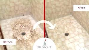 regrout shower shower tile how to grout shower tile sir grouts tile cleaning and shower renewal regrout shower