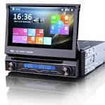 Car DVD Player: SINGLE DIN IN DASH CAR DVD. -